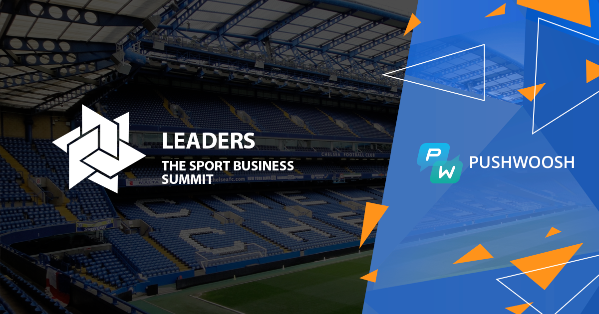 Leaders 2016: Pushwoosh At The Sport Business Summit