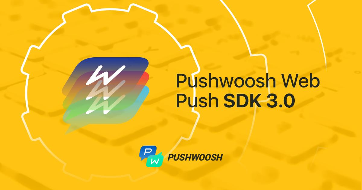 Web SDK 3.0 released!