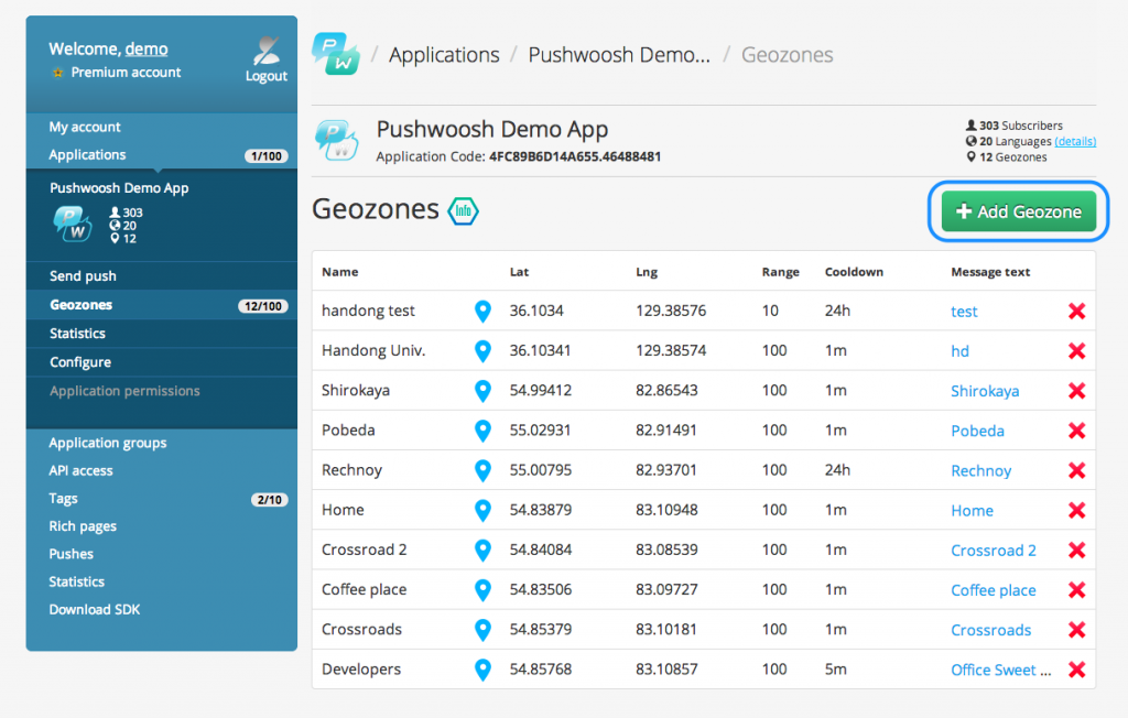 Pushwoosh___Applications___Pushwoosh_Demo_App___Geozones