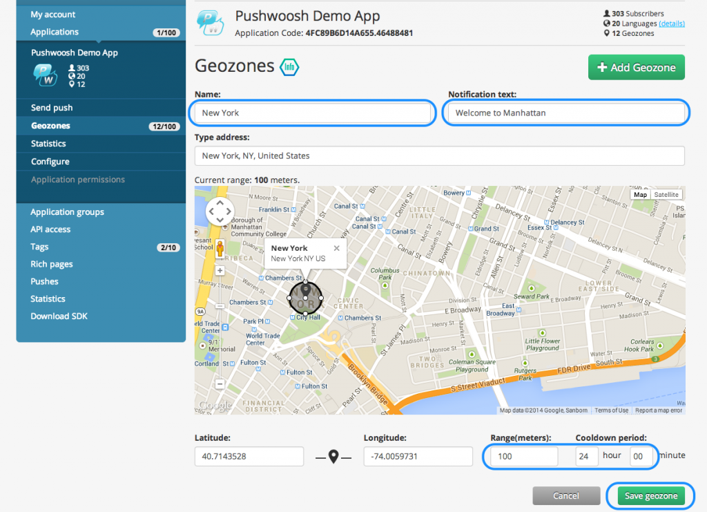Pushwoosh___Applications___Pushwoosh_Demo_App___Geozones2
