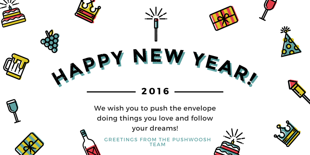 We wish you to push the envelope doing things you love and follow your dreams! (1)