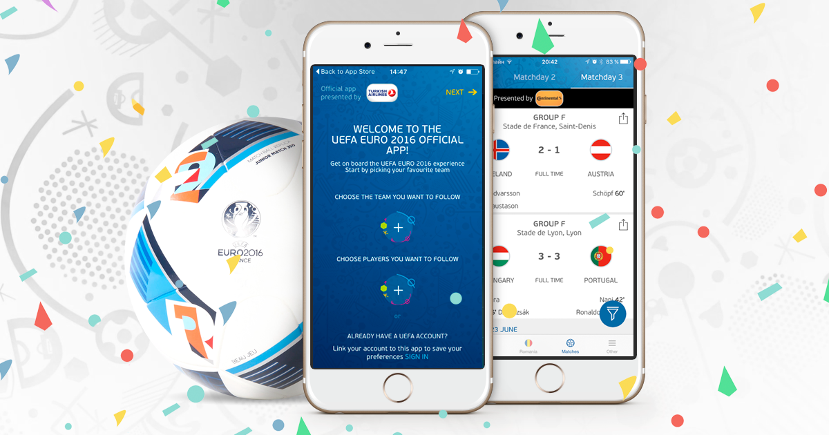 Pushwoosh Notifies UEFA Euro 2016 App Users